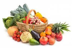 fruits et légumes panier
